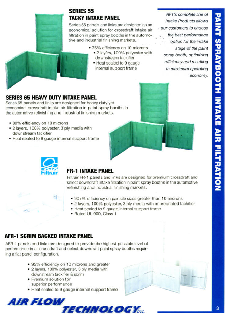 Spraybooth intake panel filters prices free shipping for Paint booth intake filters 20x20